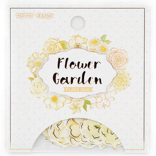da5416 Flower Garden (Yellow)